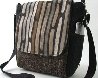 Crossbody Handtasche Damen Rucksack, Umhängetasche, Schultertasche, Umhängetasche, Geschenkideen, Reißverschluss-Tasche wandelt, passend für Ipad, sofort lieferbar