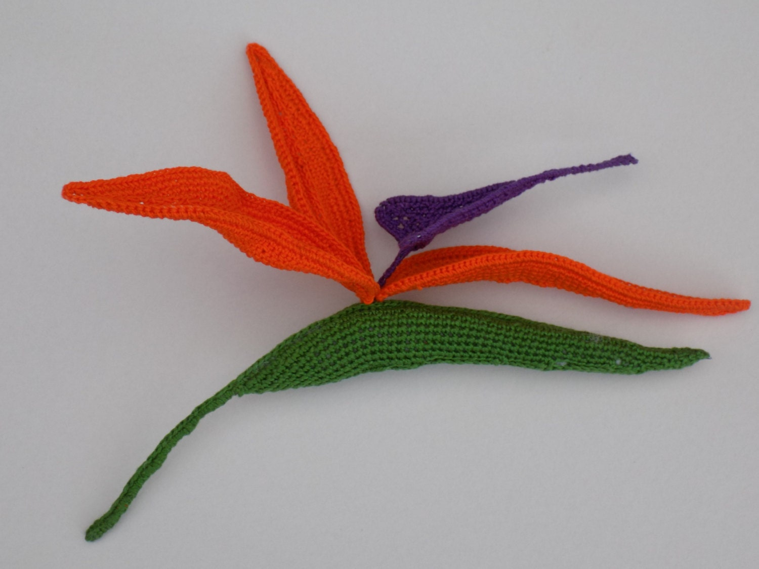 Crochet Strelitzia Bird of Paradise Pattern/crochet exotic