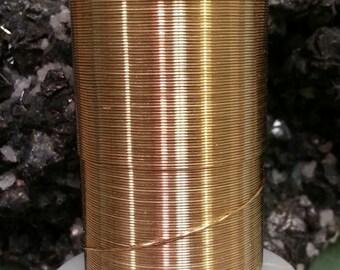 26 calibre redondo Color oro bronce alambre Beadsmith óxido resistente