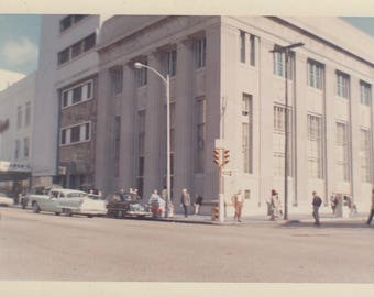 1950s Streetview - Original Vintage Photo