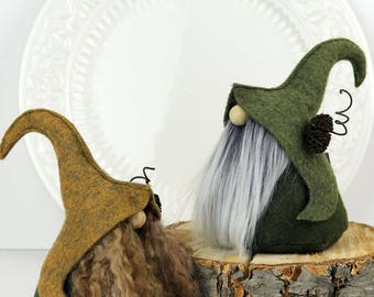 Nordic Elfin Gnome, FIMNI, Friend Gifts, Elf, Elves, Home Gnome, Nordic, Scandinavian Gnomes, Birthday Gifts, Hostess Gifts, Tomte, Elf
