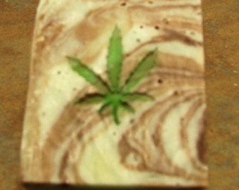 Mary Jane Resin Cast Soap Stamp
