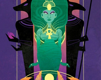 Nephthys - Funerary Goddess