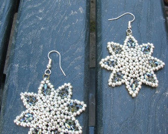 Earrings made with tutorial Superotto by Margherita Fusco (75marghe75)