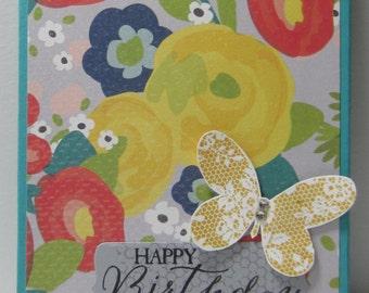 Butterfly Birthday Reminder Book