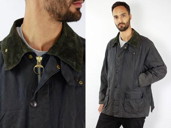 BARBOUR Coat Barbour BEDALE Jacket Wax Vintage Bedale Barbour Coat Parka Blue Coat BARBOUR Wax Jacket Blue Wax Coat Barbour Coat Waxed Coat