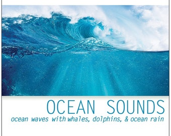 Ocean Sounds (CD): Ocean Waves with Sound of Whales & Dolphin Sounds (Wave Sounds of Ocean)