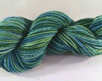 Handspun Merino Wool Worsted Weight Yarn - #665