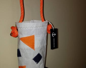 Recycled Sailcloth Wine Tote