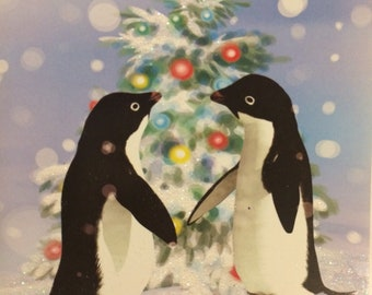 Warm Wishes Penguin Set of 14 Christmas Cards