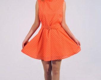Polka dress mini