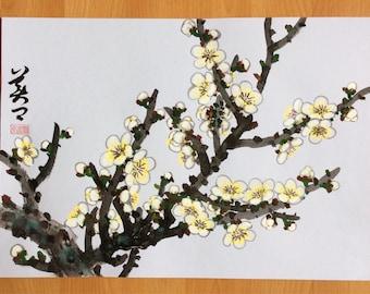 Original Chinese Painting-Blossom(Plum Blossom)Q