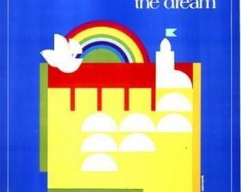 Israel The Dream. Original Poster. 1979