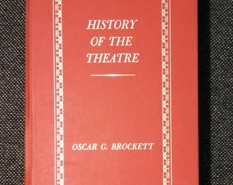 HISTORY of the THEATER  1971    In Excellent Condition
