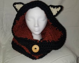Fox Hooded Cowl
