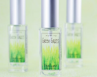Green Grass Perfume | Fresh Fragrance of Sweet, Green, Dewy Grass Perfect for Spring and Summer