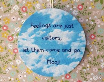 Free Feelings - Embroidery Hoop Art