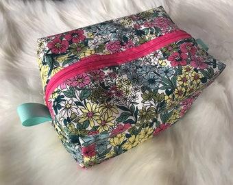 Diaper Pod/Boxy Pouch/Makeup Bag