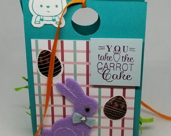 Easter Treat Box-Turquoise/Multi-Color