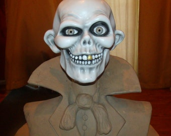 Haunted Mansion 1:1 Scale Hatbox Ghost Bust Prop