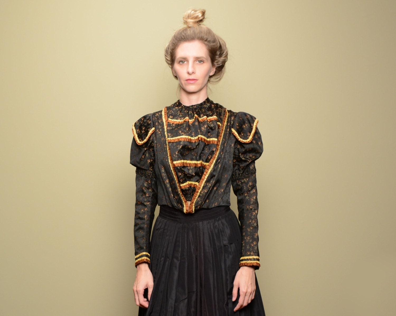 antike viktorianische Mieder Jacke aus den 1800er Jahren