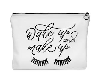 Wake Up  Make Up Costmetic Bag