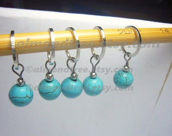 Knitting stitch markers | yarn markers | gift for knitter | sea id1330641 | knitting yarn marker | stitch markers | snag free