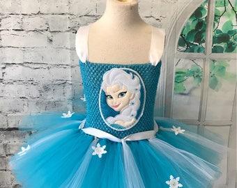 Elsa tutu, Elsa tutu dress, Elsa costume, Frozen tutu dress, Frozen tutu, frozen costume, Elsa birthday dress, frozen birthday dress,
