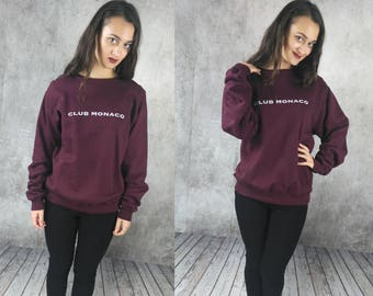 Club Monaco / Oversized Sweater / Fleece Sweater