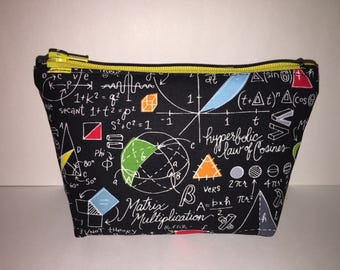 Small Math! Zipper Clutch