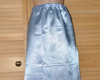 Double satin sissy skirt, slip / petticoat, Sissy Lingerie, pretty skirt for men