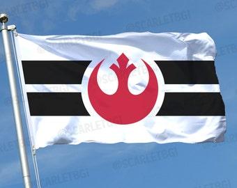 Star Wars Rebel Alliance Flag!