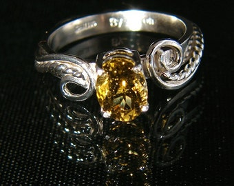 Yearning - Fancy Color Tourmaline ring