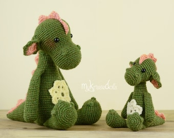 Crochet Pattern - MINI Dragon Julia