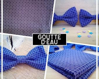 """Bow tie collection """"water drops"""" men/teen/child/baby bag men"""