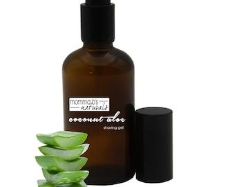 Shaving Gel Aloe Coconut Sensitive Skin
