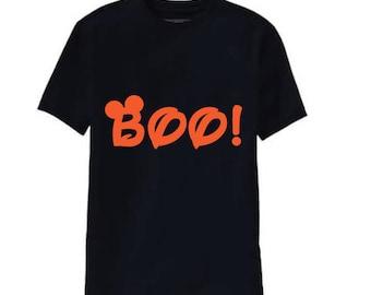 Mickey Boo Halloween Shirt