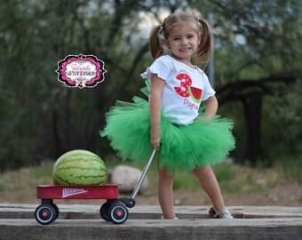 Watermelon Shirt, Watermelon Birthday Shirt, Watermelon Birthday, Girl Birthday Shirt, Birthday Shirt, Summer Birthday, Birthday Gift