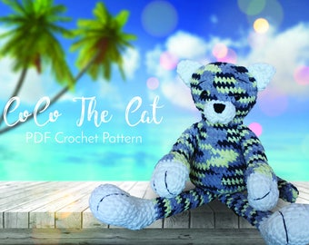 CoCo The Cat - Crochet Cat Pattern