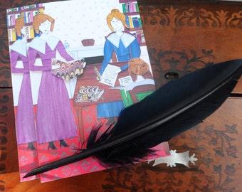 The Brontë Sisters Notebook Journal Diary Sketchbook