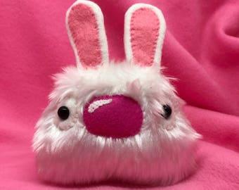 Lucky white rabbit plush