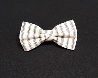 Soft Gray Bow Ties