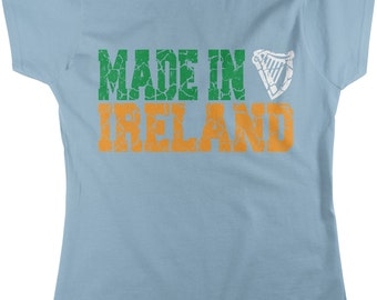 Made in Ireland, St. Patrick's Day, Irish Pride, Irish Tough Women's T-shirt, NOFO_00135