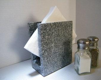 Napkin Holder, Granite Napkin Holder, Polished Stone Napkin Holder,