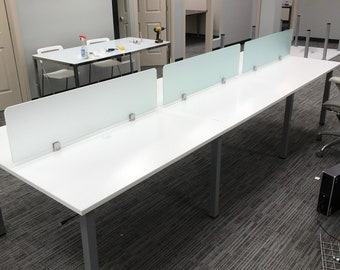 Star office benching cubicles for office environments.