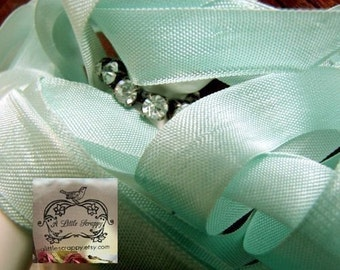 Rayon Seam Binding Ribbon Aquarelle