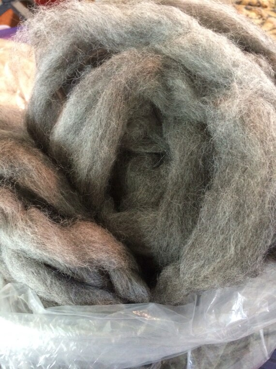 Alpaca Roving - 1/4 pound - crochet - yarn - felt - spinning - weave