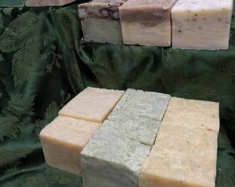 WHOLESALE LOT 50 BARS - Handcrafted Organic Vegan Soap Bar ~ Choose Scent - Hand  Made