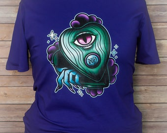 Hidden Whispers Pastel Planchette Tee Pastel Goth Creepy Cute Tattoo