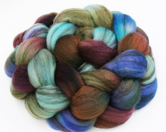 Mixed BFL Wool  Spinning Fiber, 4 oz, Chit Chat